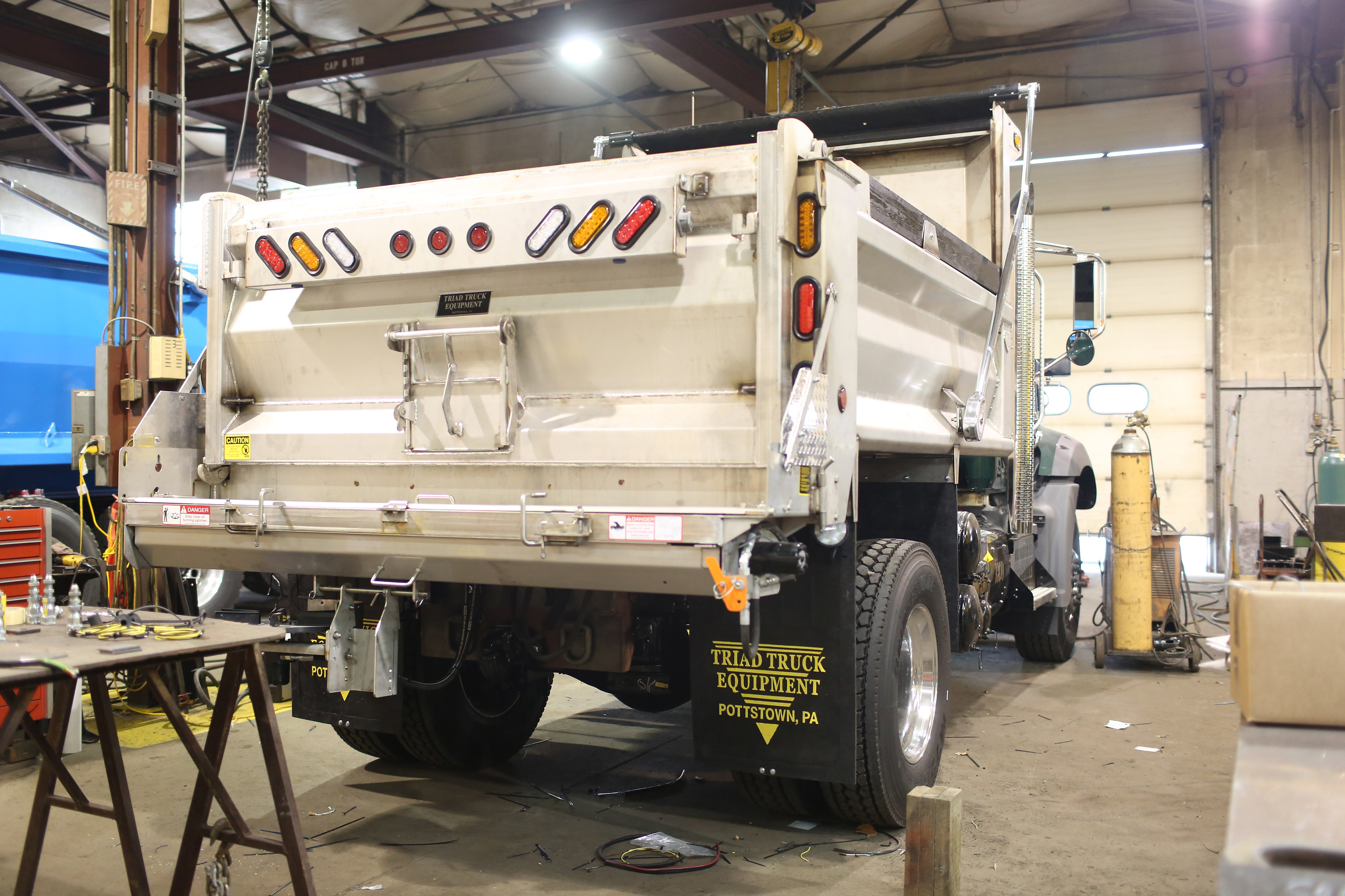 Triad Truck Snow Plows & Salt Spreaders